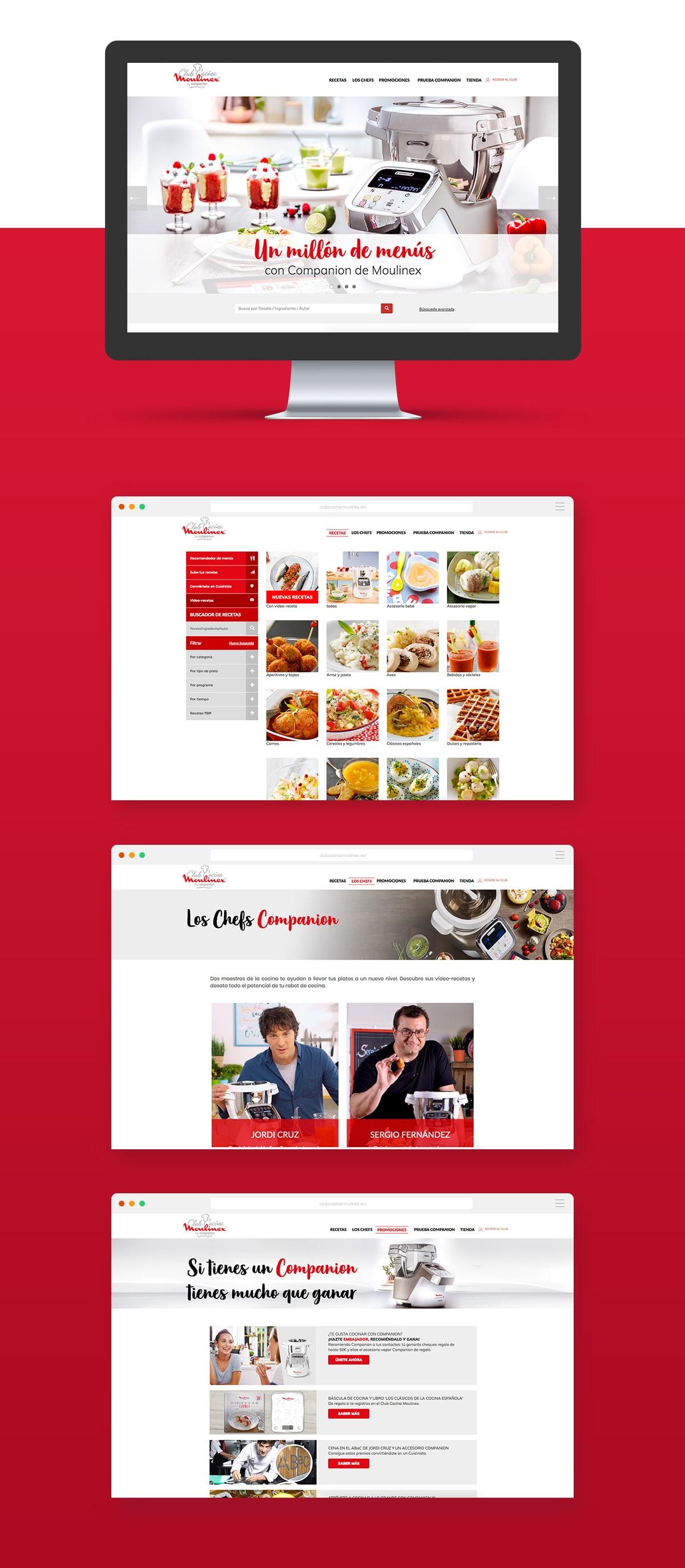 Club Cocina | Duplex Brand Activation Marketing Club Cocina Moulinex